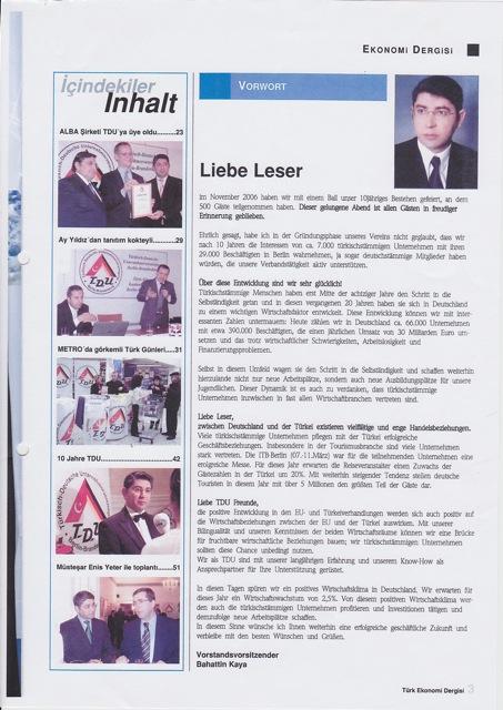 Türk Ekonomi Dergisi